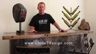 Custom Industrial And Contemporary Furniture By Louie Tozser Design