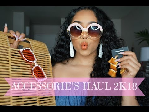 ACCESSORIES  SRING HAUL/ FASHION TIPS 2K18 | TheAnayal8ter