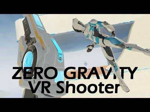 ZERO GRAV VR FPS that WORKS! - SkyFront VR on the HTC Vive