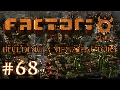 Factorio - Building a Mega Factory: Part 68 Attack of the biters