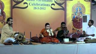 Kalaimamani Kanyakumari Violin - Maha Ganapathim Manasa Smarami