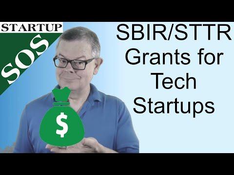 SBIR/STTR Tech Startup Grants for R&D