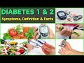 Diabetes 1 and Diabetes 2 Definition and Facts Diabetes Symptoms Type 1 and Type 2