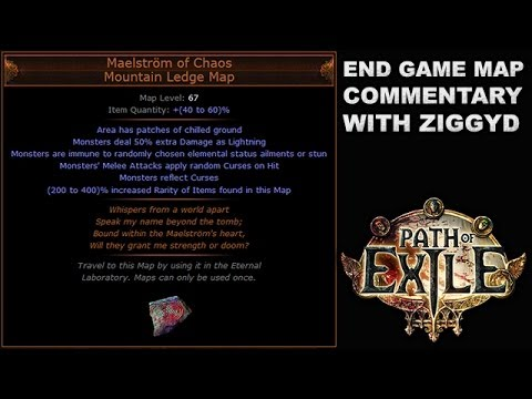 Path of Exile: Maelstrom of Chaos, Mountain Ledge Unique Map