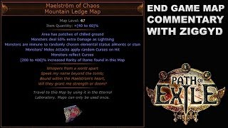 Path of Exile: Maelstrom of Chaos, Mountain Ledge Unique Map Commentary