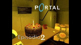"""Portal Ep 2-2 – Black Mesa y Aperture Science - """"Chell / Glados"""""""