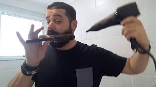 Barbear como de secar escova a