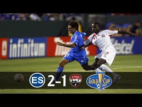 El Salvador [2] vs Trinidad y Tobago [1] FULL GAME : 6.7.2007 : GC/Copa Oro 2007