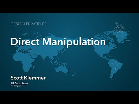 Lecture 5.1 Direct Manipulation