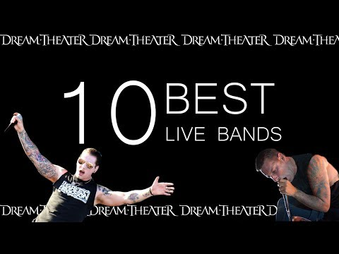 10 BEST LIVE BANDS