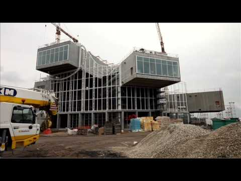 Centre Pompidou, Metz, France - architecture tour - YouTube