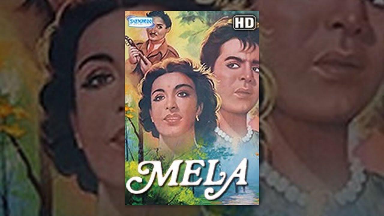 Mela (1948) (HD) - Hindi Full Movie - Dilip Kumar - Nargis - Rehman - Bollywood Classic Movies