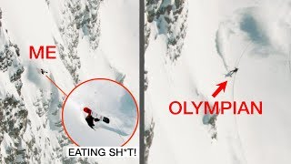 I LIED to an Olympian (painful mistake)