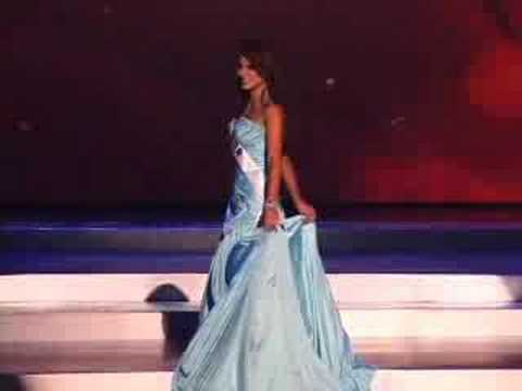 Ecuador - Miss Universe 2008 Presentation - Evening Gown - YouTube