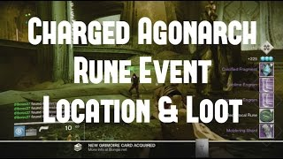 "Destiny ""TTK Charged Agonarch Rune Event & Where To Use!!"""