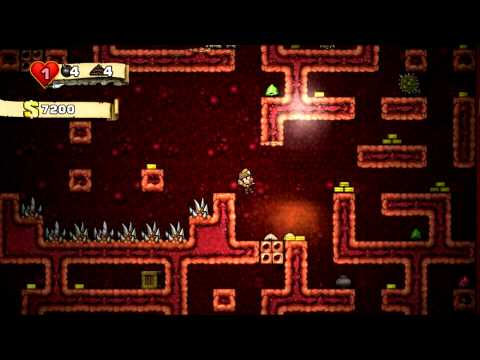 Spelunky secret levels