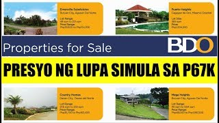 Bdo Foreclosed Properties For Sale Price Starts At P67,000