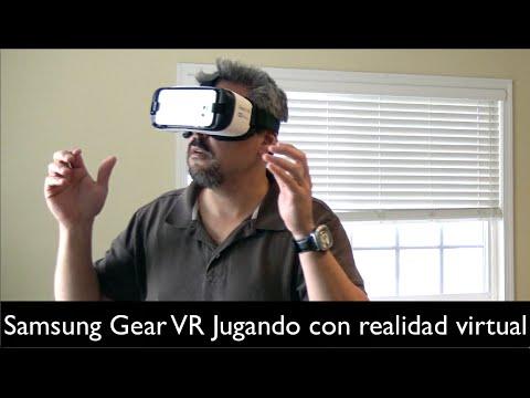 Samsung Gear VR   jugando con realidad virtual