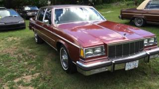 1983 Buick Electra Park Avenue July 2016 Update