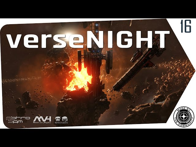 verseNIGHT 🚀 Star Citizen Talk & Musik mit AstroSam & Mitch van Hayden (German/Deutsch, 14.04.2020)