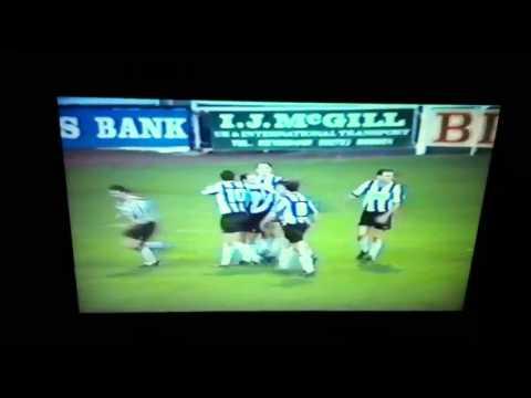 Steve Kean scoring for Bath City V Yeovil Boxing Day 1991.mp4