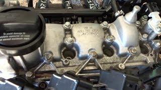 moteur polo 5 un seul arbre acame + Polo 6 chort  son accessoir - محرك بولو اربركام واحد
