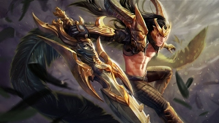 Vainglory 2.4 New Skin Champion's Fate Blackfeather