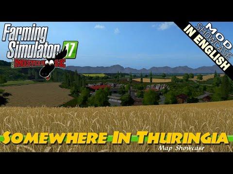 Farming Simulator 17 Mod Showcase   Somewhere In Thuringia Map Showcase