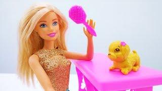 Мультики Барби. Барби нашла щенка. Видео для девочек