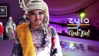 life of a club kid dressing outrageously to party in singapore zula features