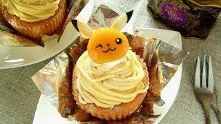 Pikachu mont blanc cake.