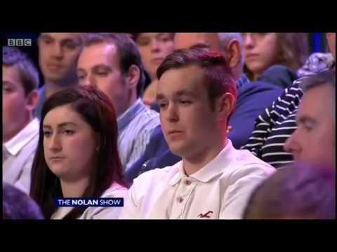 Nolan Show: Young man sums up Un-British DUP policy on Gay Blood