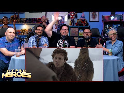 Solo: A Star Wars Story Official (Tipsy) Trailer Reaction