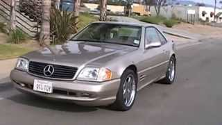 2001 Mercedes SL500 Car For Sale Temecula California