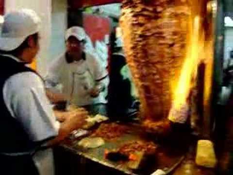 Tacos al Pastor Los Gueros Mexico DF - YouTube 87de234aece67