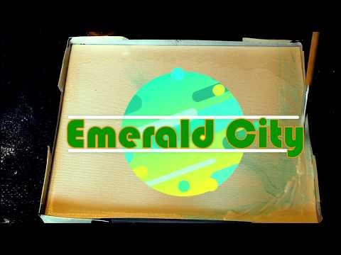 Geode Resin art/Emerald City