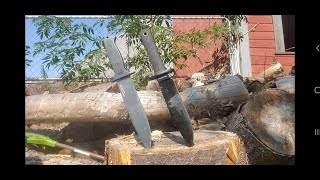 Cold Steel Drop Forged Survivalist VS Cold Steel Recon Scout