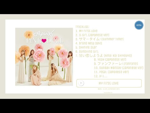[FULL ALBUM] Apink 에이핑크 - Japan 2nd Album 'Pink Doll'