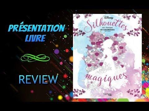 Coloriage Adulte Review Silhouettes Magiques Disney Presentation