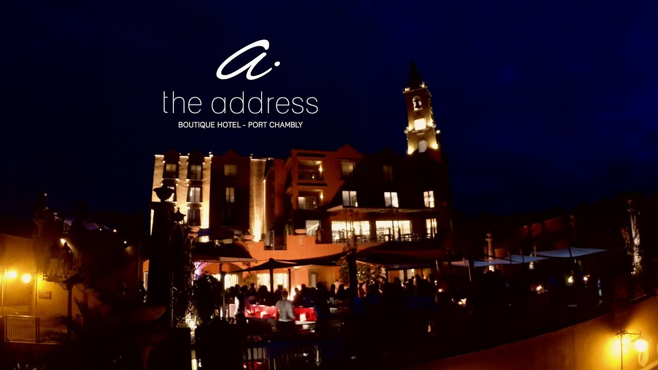 Launch of the address hotel port chambly mauritius youtube for The adress boutique hotel