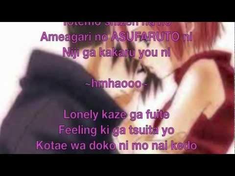 Azu  For You lyrics Naruto ^^
