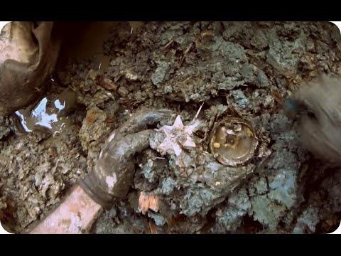 ML41 Раскопки немецкого блиндажа WW2 dugout excavations HD SUB