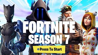 Fortnite Season 7 Battlepass Complete Overview and Reaction!! HOW TO CAMO, SKINS, NEW MUSIC; EMOTES!