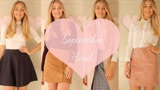 September Haul | Freddy My Love
