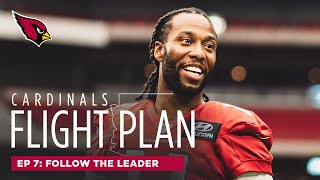 Larry Fitzgerald Shows Rookies (& Veterans) How to Be a Pro | Arizona Cardinals Flight Plan