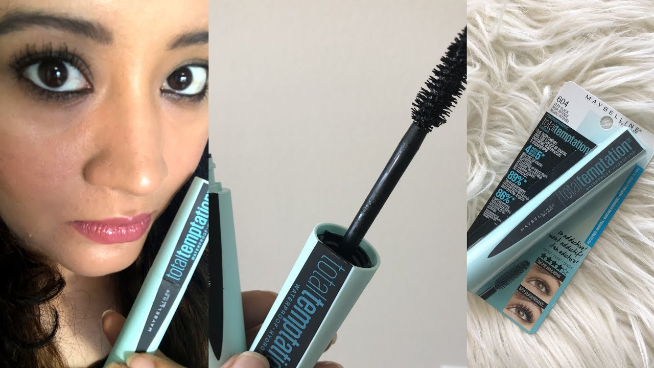 a5355763ff4 Total Temptation Volumizing Mascara Waterproof | Review & Demo - YouTube