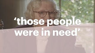 Miep Gies talks about why she helped