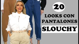 Zara pantalones rectos mujer