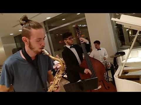 The Jazz Matters Trio with the guest Nestoras Vassilakis on the Sax