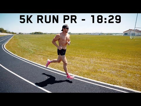5K RUN PR | 18:29 At 194 Pounds